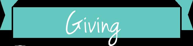 ribbon-giving